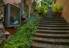 Belaggio sjö Como, Italien Arkivbild