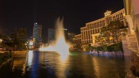 Belagio Hotel Light & Fountain Show Royalty Free Stock Photos
