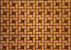 belagt med tegel golv Arkivfoto