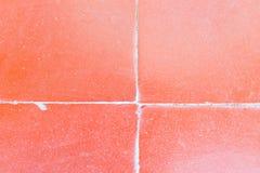 belagt med tegel golv Royaltyfri Fotografi