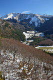 Belagua valley in the Navarrese Pyrenees Royalty Free Stock Images
