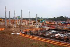 Belangrijke bouwwerf Stock Foto