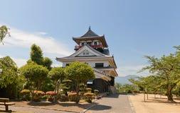 Belangrijkst houd (donjon) van Kawanoe-kasteel, Shikokuchuo, Japan Stock Foto's