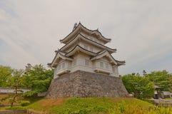 Belangrijkst houd van Oshi-kasteel in Gyoda-stad, Japan stock afbeelding