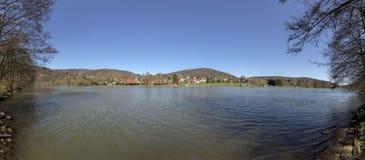 Belangrijkst standpunt in Reistenhausen Duitsland stock foto's