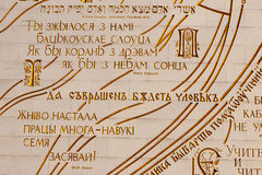 belarus arkivnational Royaltyfria Bilder