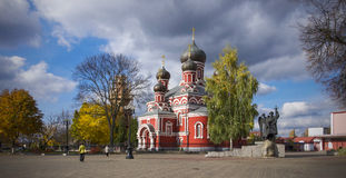 Belarus, Borisov: St. Voskresensky orthodox cathedral Royalty Free Stock Image