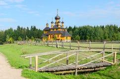 Belarus. Church of the Holy Prophet John the Baptist Stock Image
