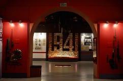 belarus Der Haupteingang zum Krieg-Denkmal Ausstellungen von den Zeiten des zweiten Weltkriegs des Verteidigungs-Museums vom Bres Stockbilder