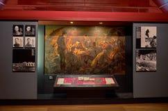 belarus Der Haupteingang zum Krieg-Denkmal Ausstellungen von den Zeiten des zweiten Weltkriegs des Verteidigungs-Museums vom Bres stockfotos
