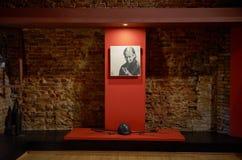 belarus Der Haupteingang zum Krieg-Denkmal Ausstellungen von den Zeiten des zweiten Weltkriegs des Verteidigungs-Museums vom Bres lizenzfreies stockfoto