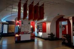 belarus Der Haupteingang zum Krieg-Denkmal Ausstellungen von den Zeiten des zweiten Weltkriegs des Verteidigungs-Museums vom Bres Stockbild