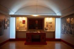 belarus Der Haupteingang zum Krieg-Denkmal Ausstellungen von den Zeiten des zweiten Weltkriegs des Verteidigungs-Museums vom Bres Lizenzfreie Stockbilder