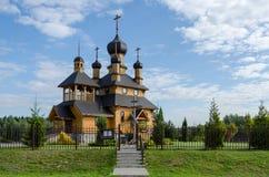 Belarus, Dudutki. Church of the Holy Prophet John the Baptist Stock Photos
