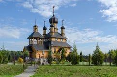 Belarus, Dudutki. Church of the Holy Prophet John the Baptist Royalty Free Stock Images
