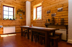 Belarus, Dudutki, museum of folk crafts and technologies. Fragme Stock Photography