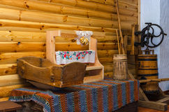 Belarus, Dudutki, Museum of vintage folk crafts and technologies Stock Image