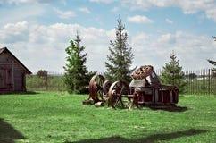 belarus El ` de Dudutki del ` es un complejo del museo de artesanías antiguas en Bielorrusia 21 de mayo de 2017 Foto de archivo libre de regalías