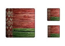 Belarus Flag Buttons Royalty Free Stock Photos