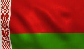 Belarus Flag Royalty Free Stock Photo