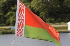 Belarus Flag Royalty Free Stock Photo