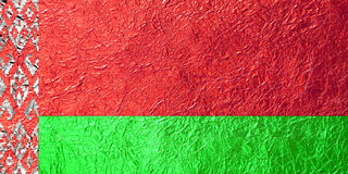 Belarus Flag Stock Photography