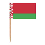 Belarus flag toothpick 10eps Royalty Free Stock Photography