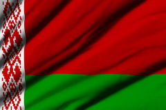 belarus flagga Royaltyfri Bild