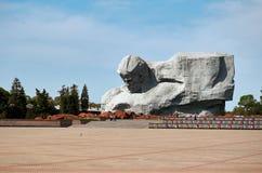 belarus Fortezza di Brest L'entrata principale al memoriale di guerra ` Di coraggio del ` del monumento nella fortezza di Brest 2 Immagine Stock Libera da Diritti
