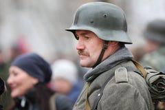 Footman German second world war Royalty Free Stock Image