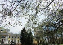 Belarus, Gomel. Palace of princes Rumyantsev-Paskevich in Gomel Park Royalty Free Stock Images
