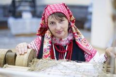 Belarusian woman stock photography