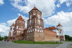Belarus, Grodno region, Mir Castle Complex Royalty Free Stock Photos