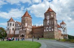 Belarus, Grodno region, Mir Castle Complex Royalty Free Stock Images