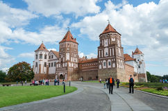 Belarus, Grodno region, Mir Castle Complex Royalty Free Stock Photography