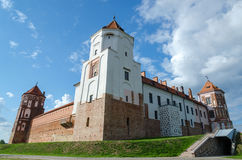 Belarus, Grodno region, Mir Castle Royalty Free Stock Photography
