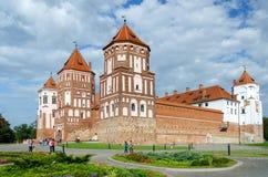 Belarus, Grodno region, Mir Castle royalty free stock photos