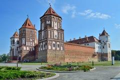 belarus grodowy powikłany Europe mir fotografia stock
