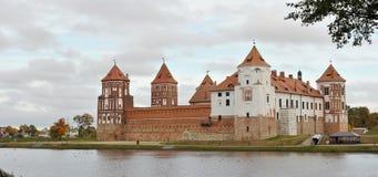 belarus grodowy powikłany Europe mir Jesień Unesco Światowego Dziedzictwa Miejsce obrazy royalty free