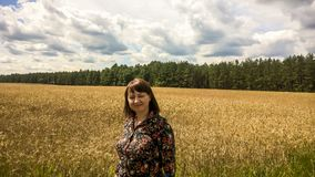 Belarus, harvest time royalty free stock photography