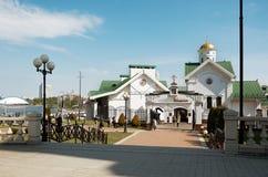 belarus Iglesia en Minsk 21 de mayo de 2017 fotografía de archivo