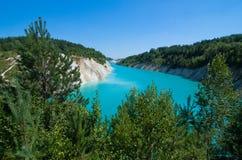 belarus L'eau bleue Photographie stock libre de droits