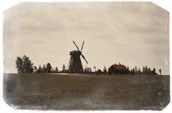 belarus Le ` de Dudutki de ` est un complexe de musée d'artisanat antique au Belarus Le vieux moulin 21 mai 2017 Photo stock