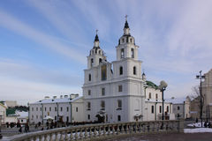 Belarus. Minsk. Holy Spirit Cathedral. Holy Spirit Cathedral in Minsk. Belorus Royalty Free Stock Images