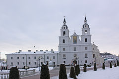 Belarus. Minsk. Holy Spirit Cathedral. Holy Spirit Cathedral in Minsk. Belorus Stock Photos