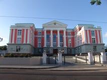 belarus minsk Le bâtiment de l'amitié entre Moscou et Minsk Photo stock