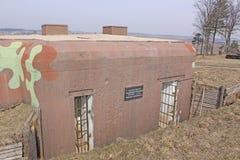 Belarus. Minsk. The museum of former Stalin Line. Bunker Stock Image