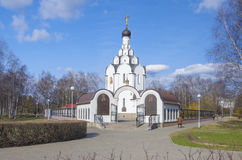 Belarus, Minsk: orthodox in memory of the victims of Chernobyl accident. Royalty Free Stock Image