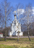 Belarus, Minsk: orthodox in memory of the victims of Chernobyl accident. Stock Photos