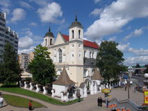 Belarus. Minsk. St.Peter and Paul Cathedral Royalty Free Stock Image